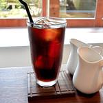 天満屋サンド - アイスコーヒー