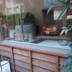 石臼挽き手打蕎楽亭 - 入口横にある製粉室、打ち場