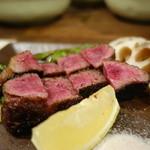 にいやま - ☆和牛ハラミステーキは肉厚でジューシー(●^o^●)☆