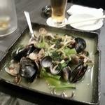 SUSHI BAR THE ƎND -縁戸- - 貝の酒蒸し