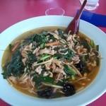 里里 - 料理写真:ニラ豚ラーメン 大盛