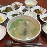 45778476 - テールスープ定食