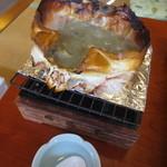 味処 喜いち - 熱々の蟹味噌