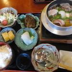 味処 喜いち - 小鍋定食 950円(2015.12)