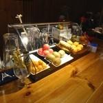cocktail bar esprit - カクテル用のフルーツ