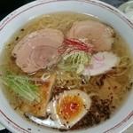 らぁめん道場 黒帯 - 潮麺 真髄