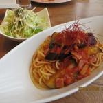 サクラ カフェ - 料理写真:パスタランチセット(日替わりパスタ) 900円