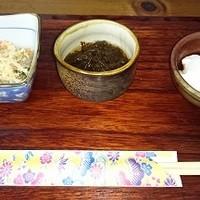 カナ - 料理写真:先付の3品。