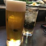 写楽 - 生ビール
