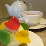 ロビーラウンジ 「インプレイス」 - 紅茶といただきました
