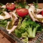 あふろ - 鶏ハムのサラダ