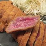 牛カツ専門店 京都勝牛 - 牛ロースかつ