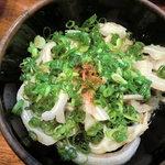 やすがん - 料理写真:豚耳ポン酢