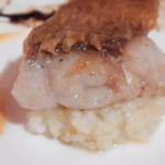 ダ イシザキ - 魚 リゾット小田原産金目鯛クロッカンテ乗せ