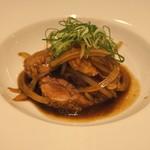 東郷 - 肉 (岩手県産 豚肉 トンテキ ソースがけ)