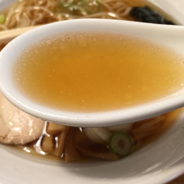 玄龍 盛岡店 - ノドグロ(醤油)のスープ