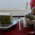 45793608 - 抹茶ケーキ