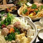 百足屋 - 鍋料理を美味しく頂きました。