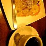 楓屋カフェ - シフォンケーキセット