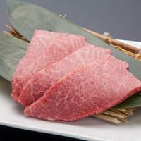 博多みやちく - 希少部位「クラシタ」。とろけるような食感が美味