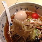 名前のないラーメン屋 - 淡麗らーめんの麺