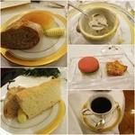 綱町三井倶楽部 - 2015パンは3種類/スープはトリュフ入り/小菓子/コーヒー