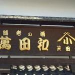 和田萬 - 看板