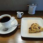 ほしの珈琲豆や - 料理写真:鎌倉スカイブレンドと自家製スコーン