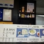 45804808 - 河豚定食メニュー