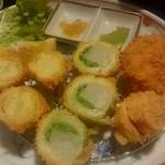 和心とんかつ あんず - 京野菜の味わい膳