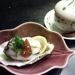 いかだ荘 山上 - 牡蠣寿司
