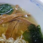 45807304 - 醤白らーめんのスープ
