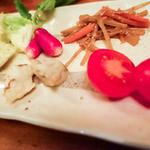 ちょうちん - お通しの野菜