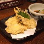 讃岐うどん 蔵之介 - 広島県産 牡蠣の天ぷら