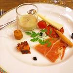 カフェ&スペイン料理 ヒラソル - オードブル(2015/12月撮影)