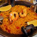 カフェ&スペイン料理 ヒラソル - 海の幸のパエリャ(2015/12月撮影)
