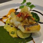 レストラン 客宝館 - ランチのお魚♪