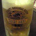 さのちり亭 - 生ビール