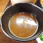 きくや - カレー汁アップ