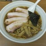 45812768 - 揚げねぎチャーシュー麺