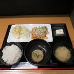 湘南ダイニング TAMARU - 湘南みやじ豚の生姜焼き定食