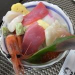 45816501 - 竹海鮮丼・大盛 税込¥1728