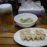 餃天堂 - 餃天堂セット&生ビール~☆