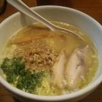 Torinoana - 白鶏らーめん(\700)