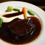ブーランジェリーカフェ ラ・プロヴァンス - 牛ホホ肉の赤ワイン煮