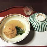 美濃吉 - 大根とひろうす・カニの餡かけ