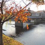 美濃吉 - 川は静かに流れていました・・