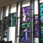 美濃吉 - 河原町教会のステンドグラス