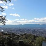 美濃吉 - 東山将軍塚から見た京都市内
