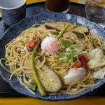五右衛門  - 夏野菜のよくばりスパゲティー